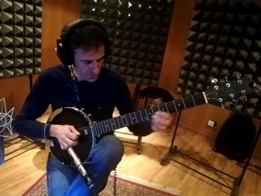 Gege Picollo (Agostino Celti- Selvatico) - Guitar banjo