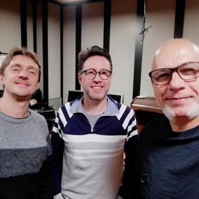 Fabrizio, Egidio e me