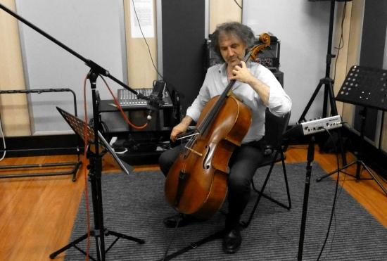 Il M° Luciano Girardengo durante una sessione