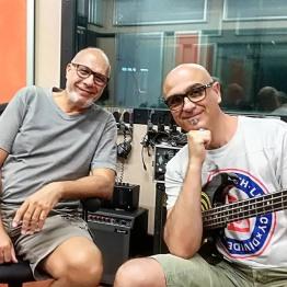 con Mauro Isetti (bass)