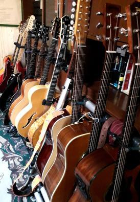 alcune chitarre di Mauro Vero