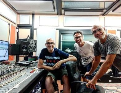 In studio con Mauro Isetti e Egidio Perduca