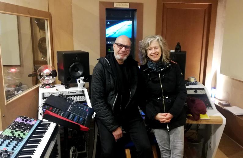 con Marti al Jane Studio